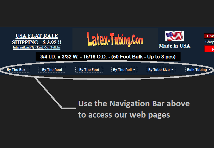 Navigating Latex-Tubing.Com